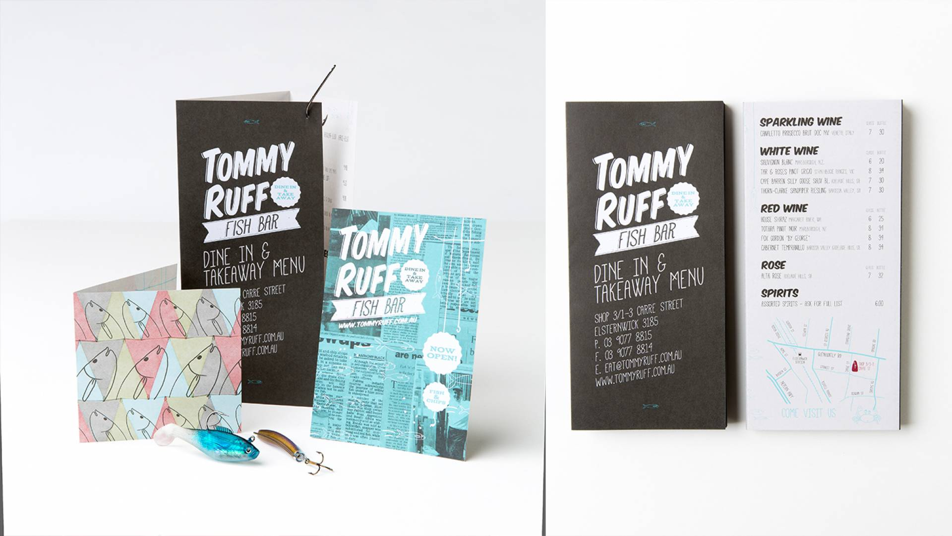 Visual Identity Designers Melbourne-Tommy Ruff Stationery Design