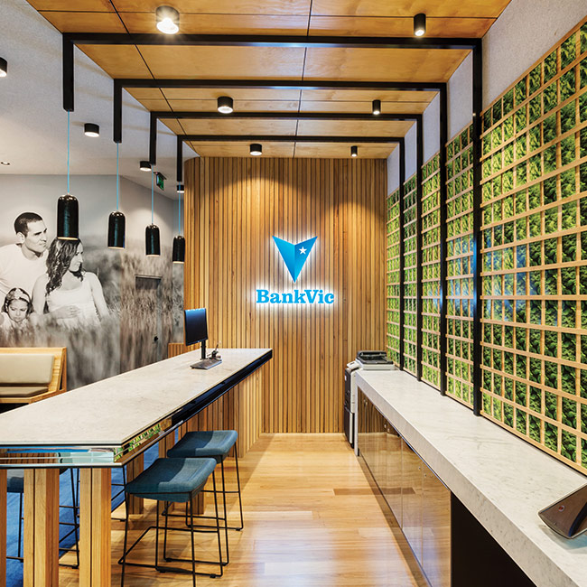 Bank Vic-Bank Branch Designers