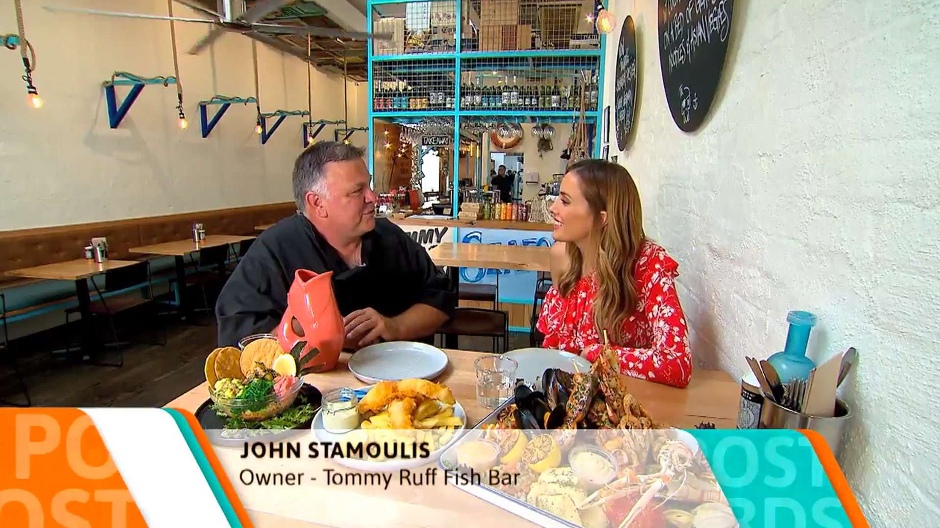 Best Restaurant & Café Design in Chapel Street - Channel 9 Postcards Showcases our newest design for Chapel Street Tommy Ruff in Windsor