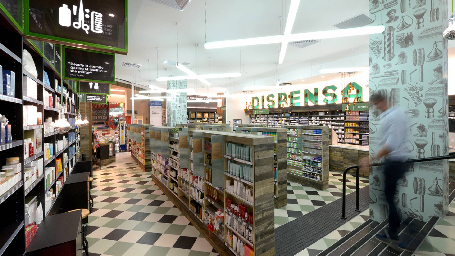 Pharmacy Design Melbourne-Custom Lighting Features