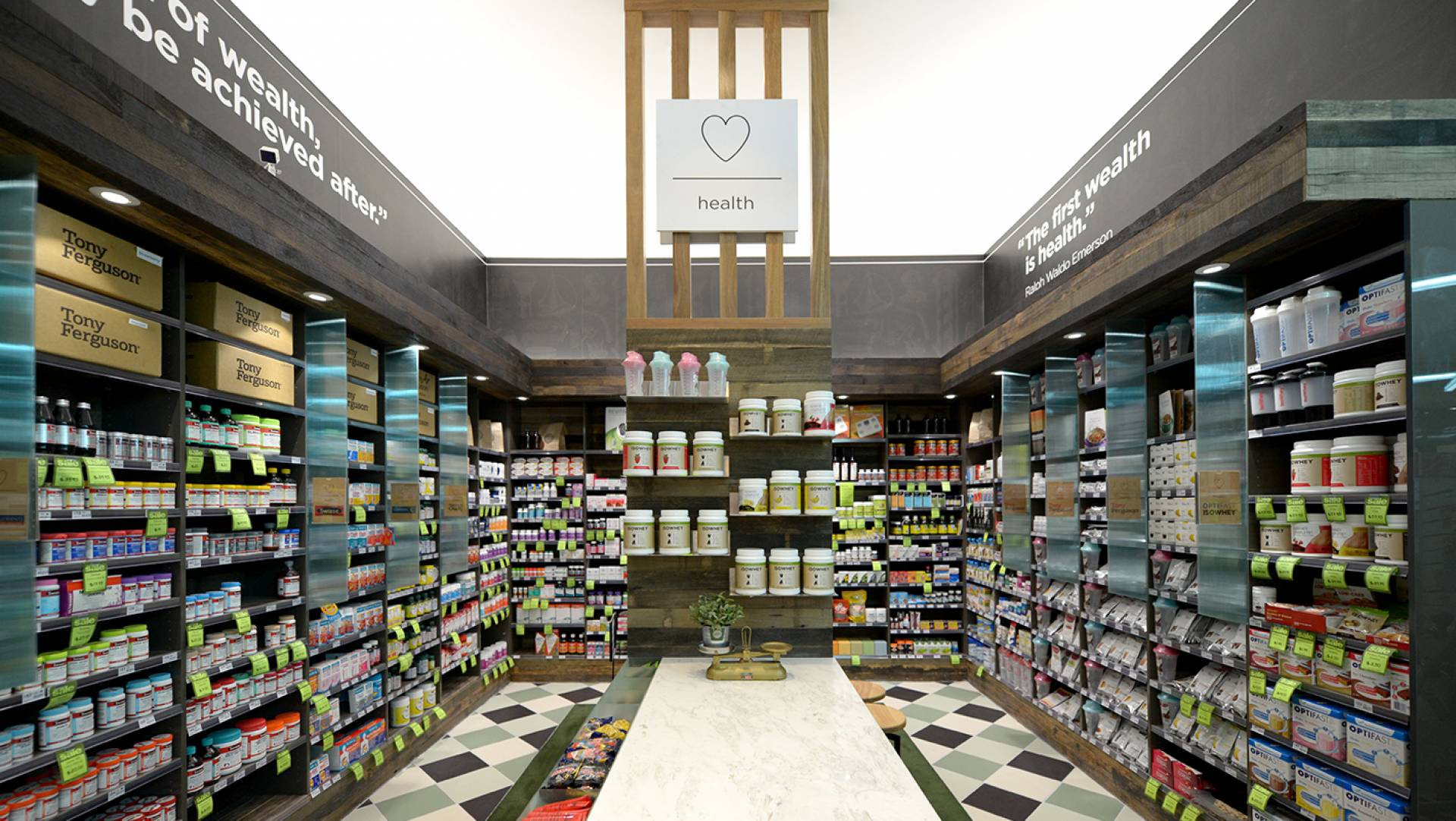 Pharmacy Design Melbourne-Custom Joinery Elements