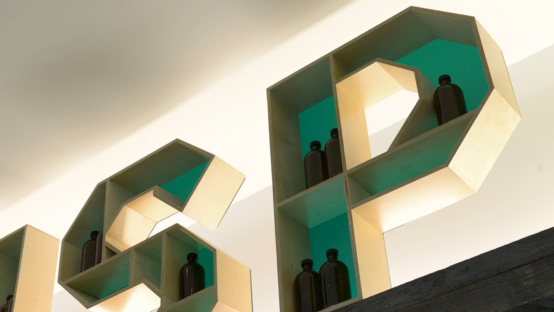 Pharmacy Design Melbourne-Custom Sculptural Signage