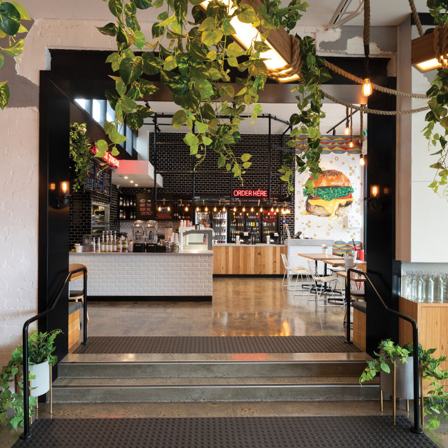 The Fish & Burger Co Interior & Brand Designer Melbourne