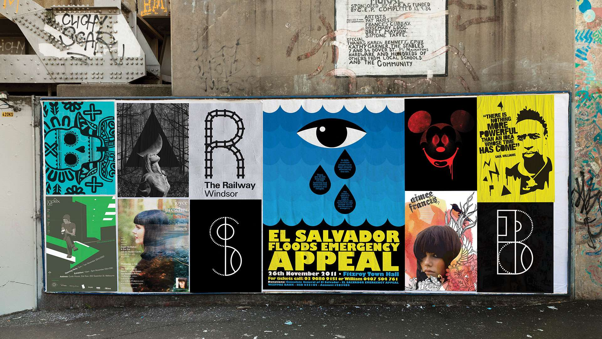 Old School Posters Designed by Studio Equator