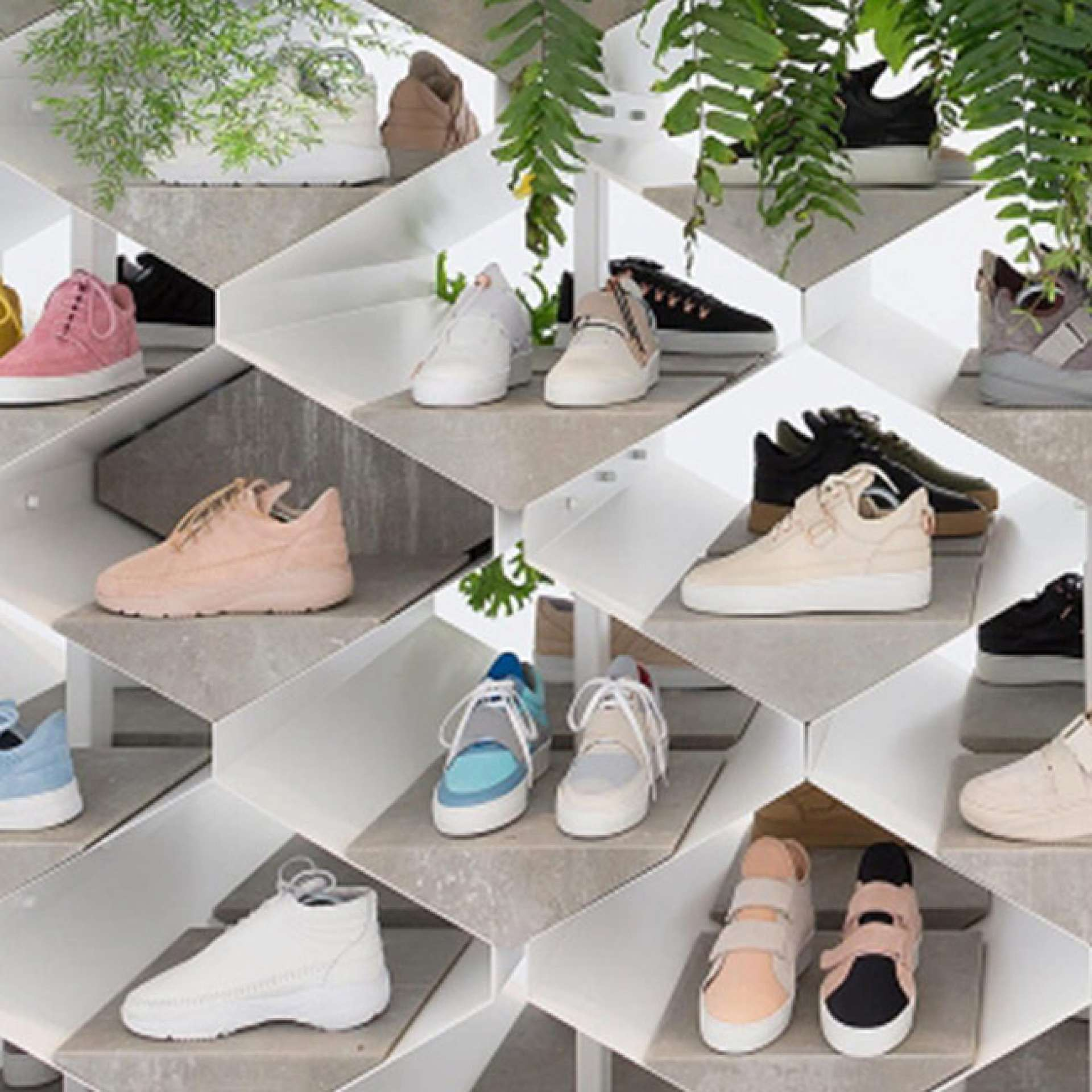 Filling Pieces exhibition by Flip Ziedses Des Plantes at Paris Fashion Week
